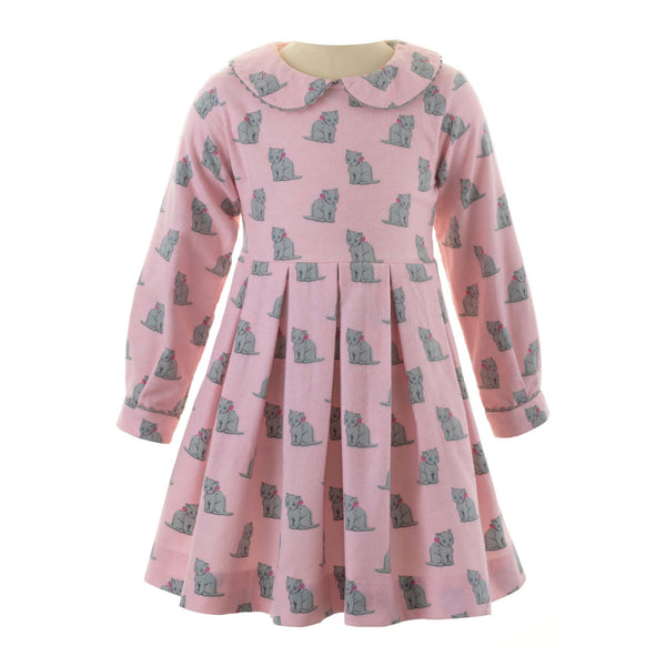 Kitten Flannel Dress
