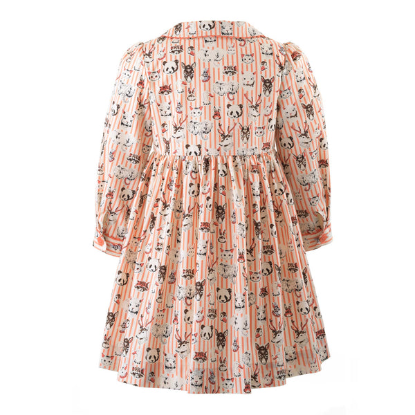 Menagerie Button-front Dress