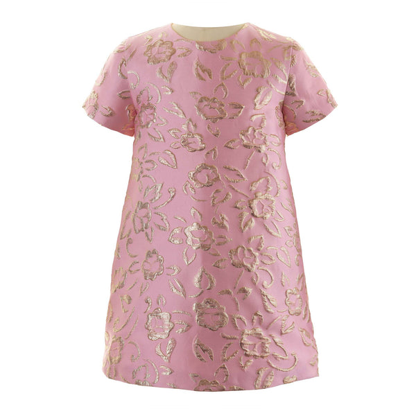 Sparkle Damask Shift Dress