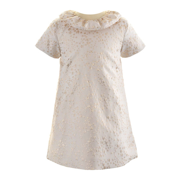 Star Damask Shift Dress