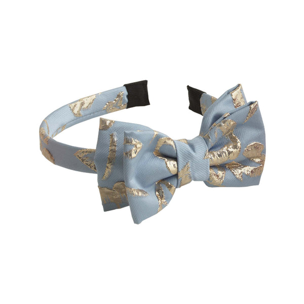 Sparkle Damask Bow Hairband