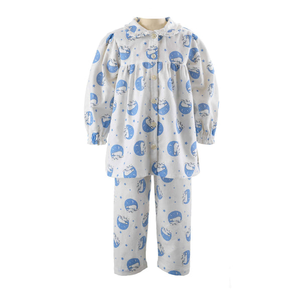 Polar Bear Babydoll Flannel Pyjamas