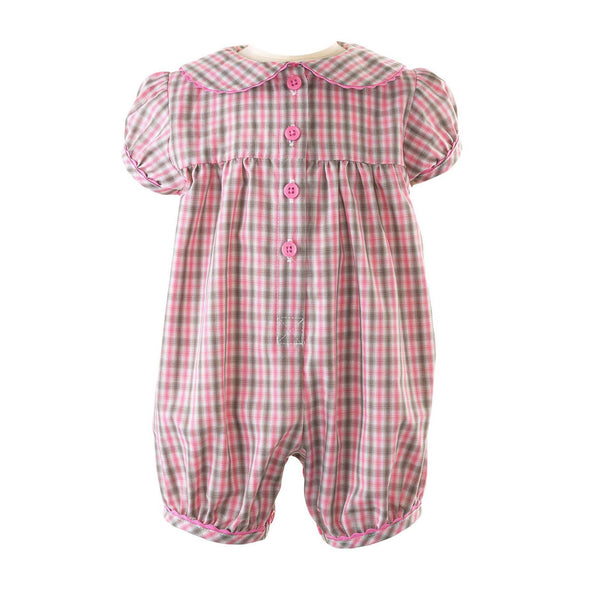 Checked Babysuit