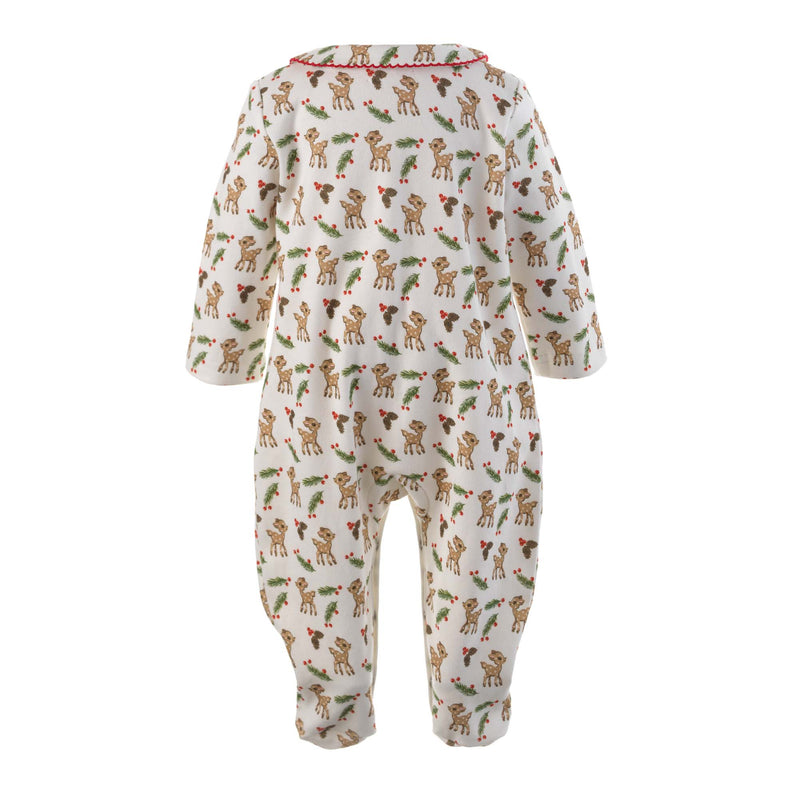Winter Deer Babygro