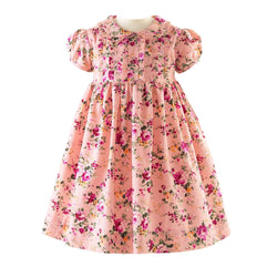Winter Rose Frill Dress & Bloomers