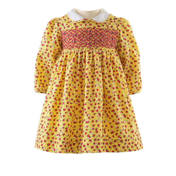 Rosebud Smocked Dress & Bloomers