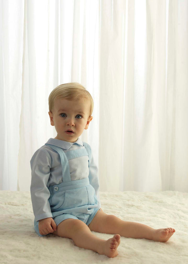 Babycord Shorts Set