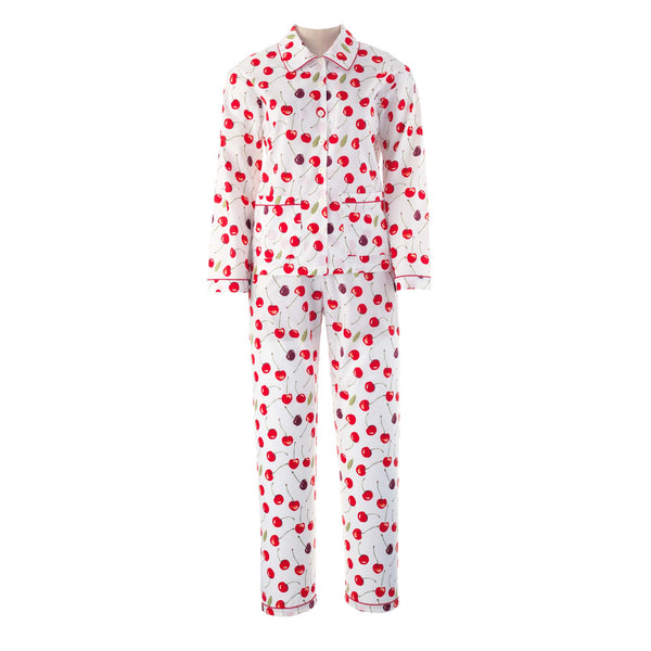 Ladies Cherry Pyjamas