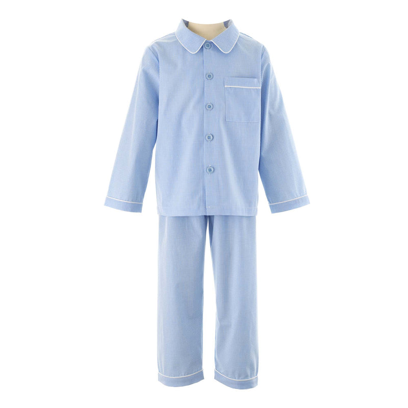 Mini Check Long Pyjamas