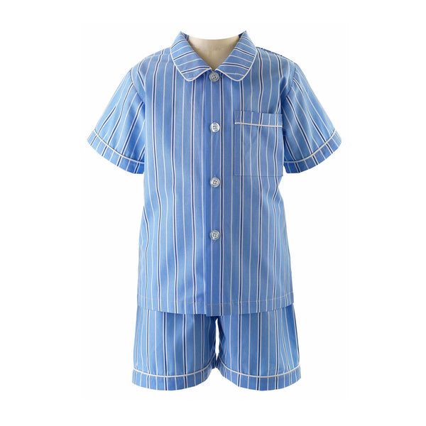 Tonal Striped Short Pyjamas