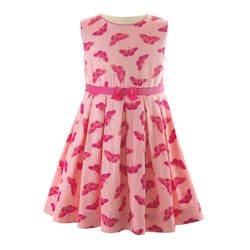 Butterfly Pleated Dress