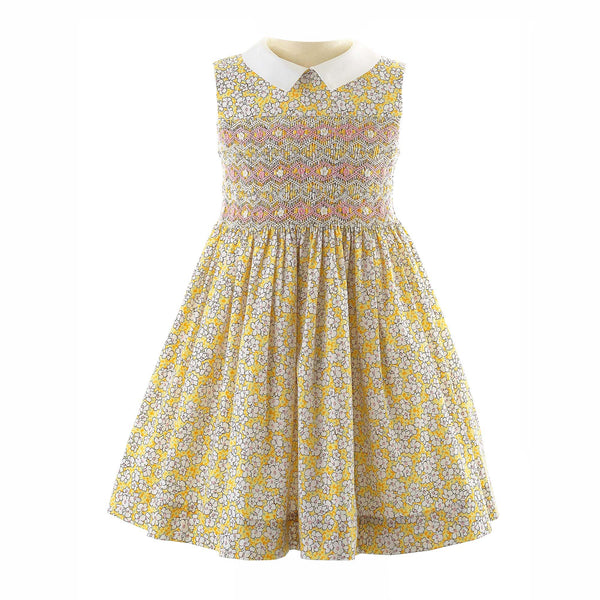 Summer Meadow Smocked Dress