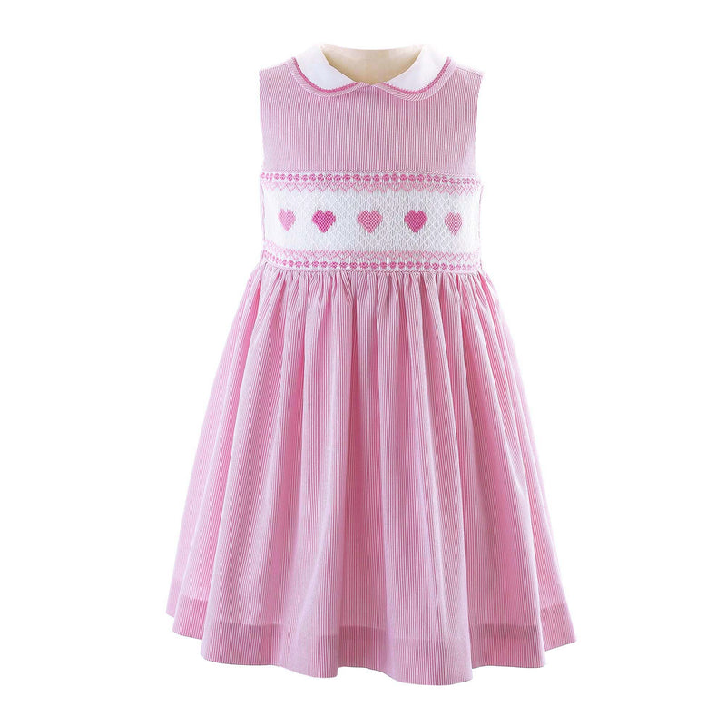 Heart Smocked Dress