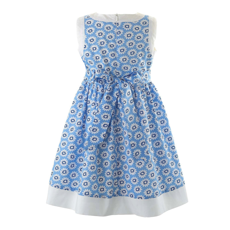 Daisy Bow Trim Sundress