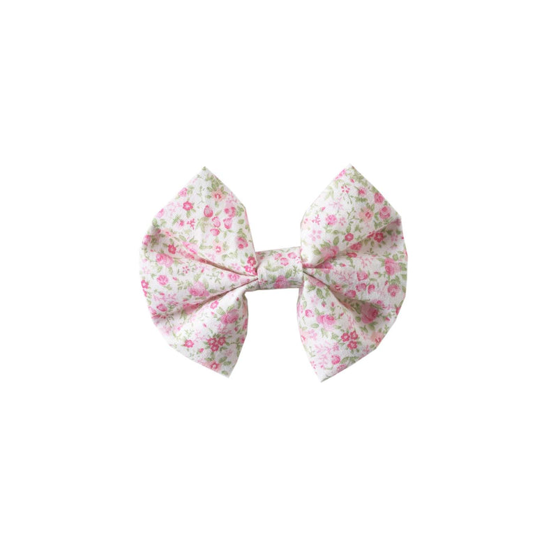 Ditsy Rose Hairbow