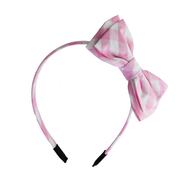 Gingham Taffeta Hairband