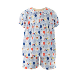 Birthday Babydoll Short Pyjamas
