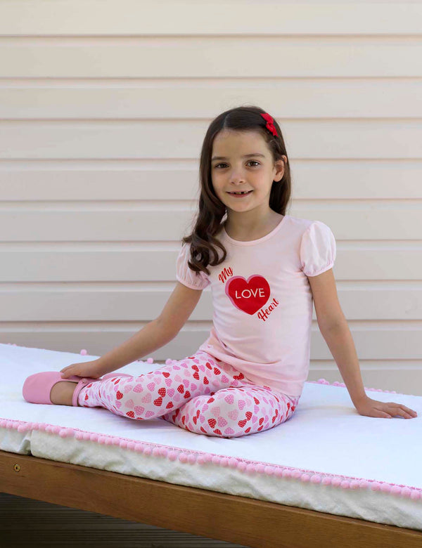 Heart T-shirt & Legging Set