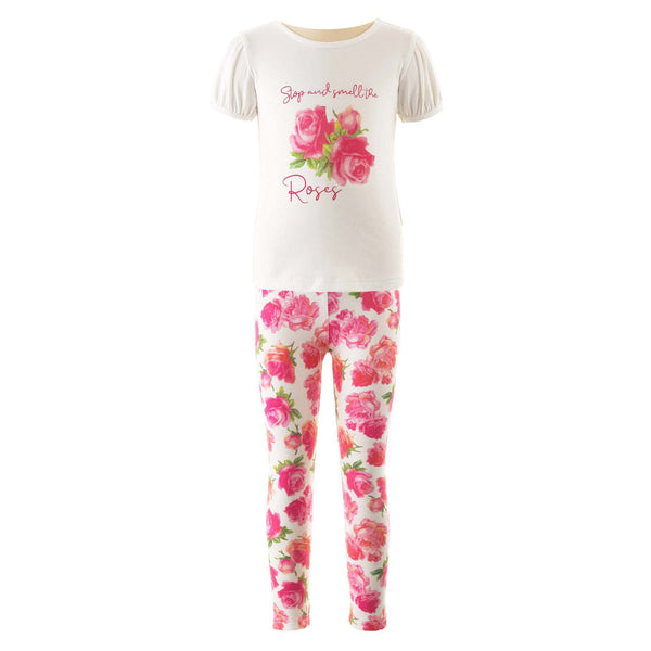 Rose T-shirt & Legging Set