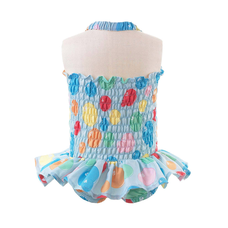 Bubble Ruched Swimsuit