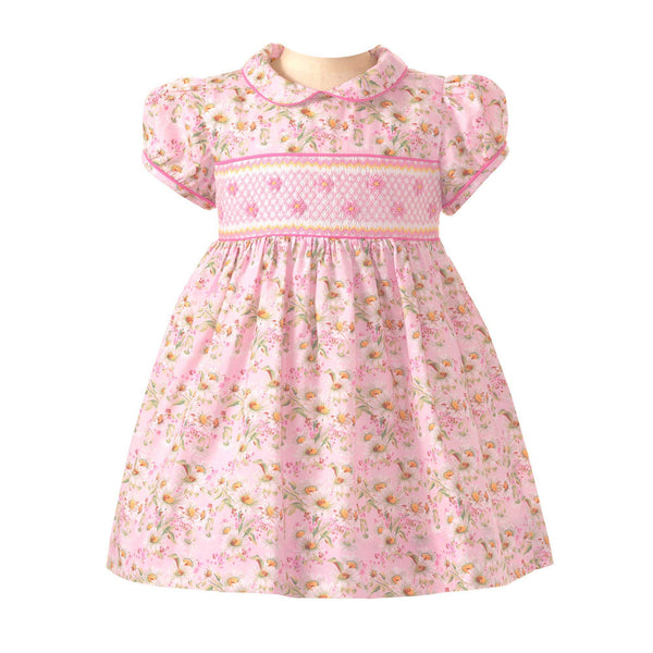 Daisy Smocked Dress & Bloomers