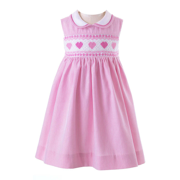 Heart Smocked Dress & Bloomers
