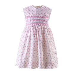 Loveheart Smocked Dress & Bloomers