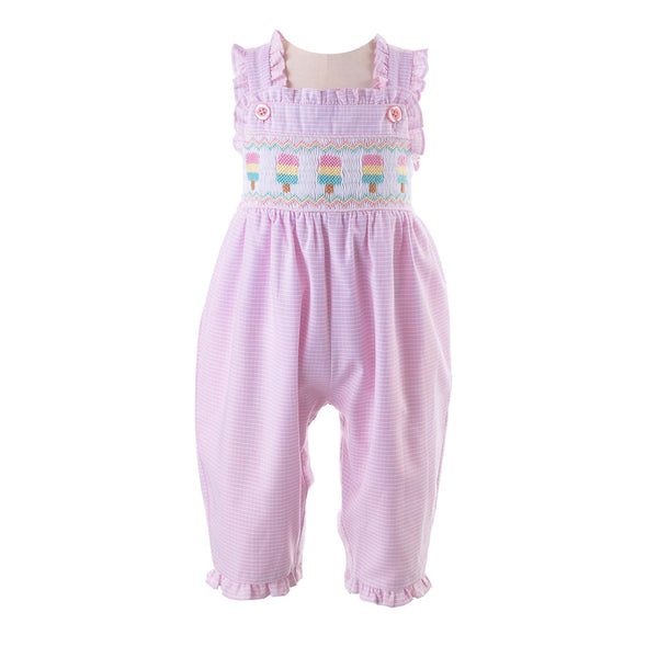 Ice Lolly Smocked Romper