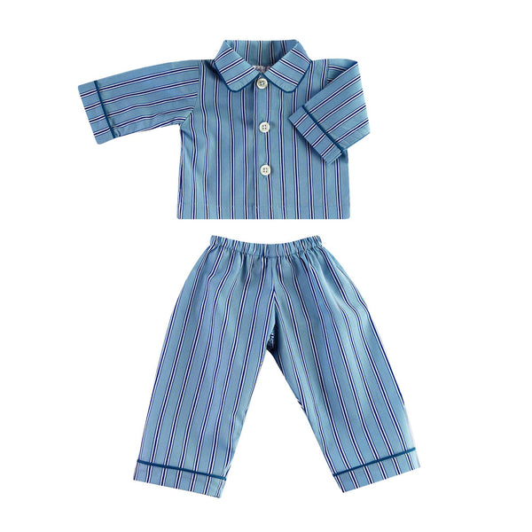 Teddy Tonal Striped Pyjamas