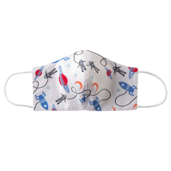 Astronaut Print Mask, Children's