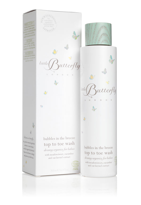 Bubbles In The Breeze - Top To Toe Wash For Baby 200ml