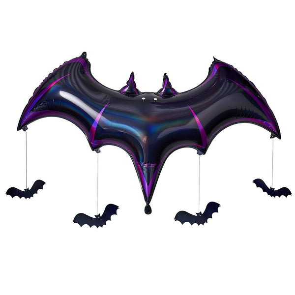 Giant Halloween Bat Foil Balloon