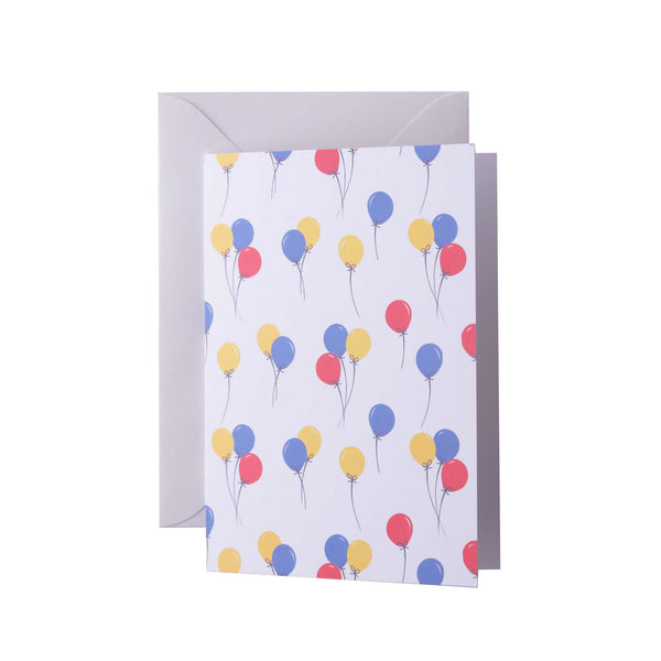 Balloon Greeting Card