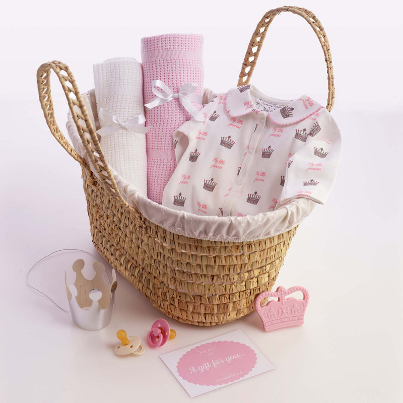 My Little Princess Baby Gift Basket