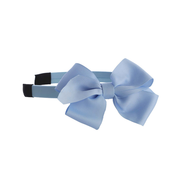 Blue Bow Hairband