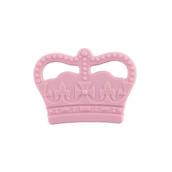 Crown Silicone Teething Toy – Pink