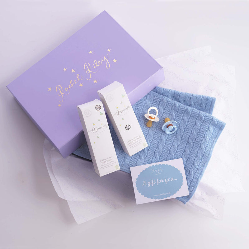 New Baby Gift Box, Blue