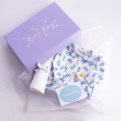 Sweet Teddy Baby Gift Box, Blue