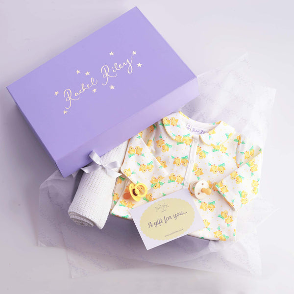 Sweet Chick Baby Gift Box, Yellow