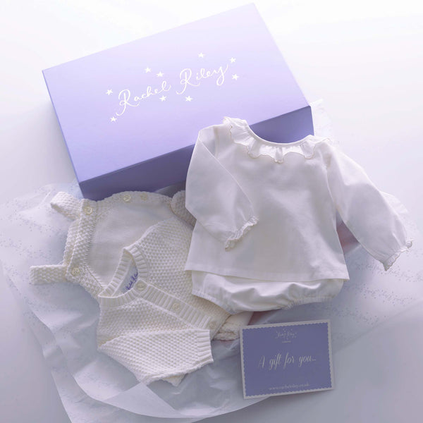 Ivory Layette Baby Gift Box