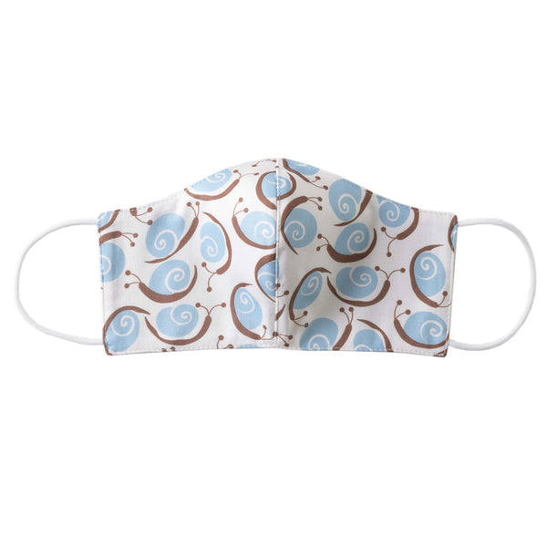 Snail Print Mask, Children's