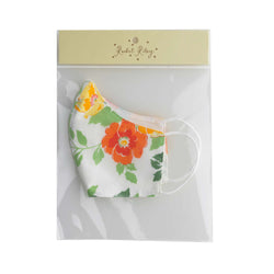 Garden Floral Print Face Mask, Children's