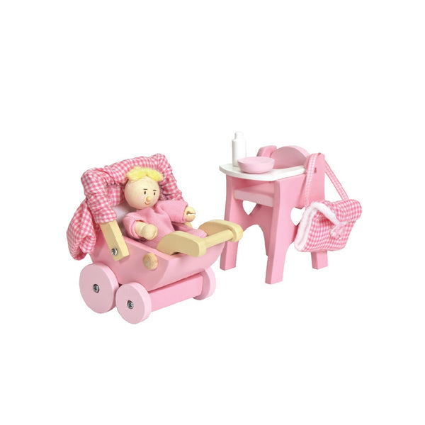 Doll Nursery Set