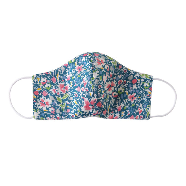 Wild Flower Print Mask, Women's