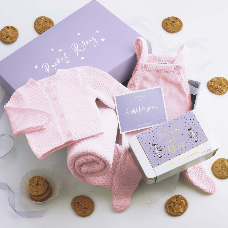 Dressed to the nines - Mum & Baby Girl cookie gift set