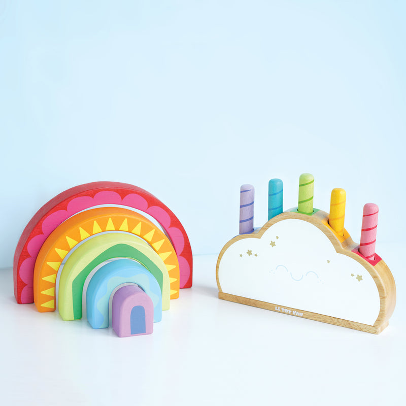 Rainbow Tunnel Toy
