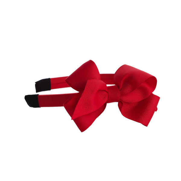 Red Bow Hairband