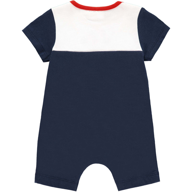 Nautical Motif Short Romper