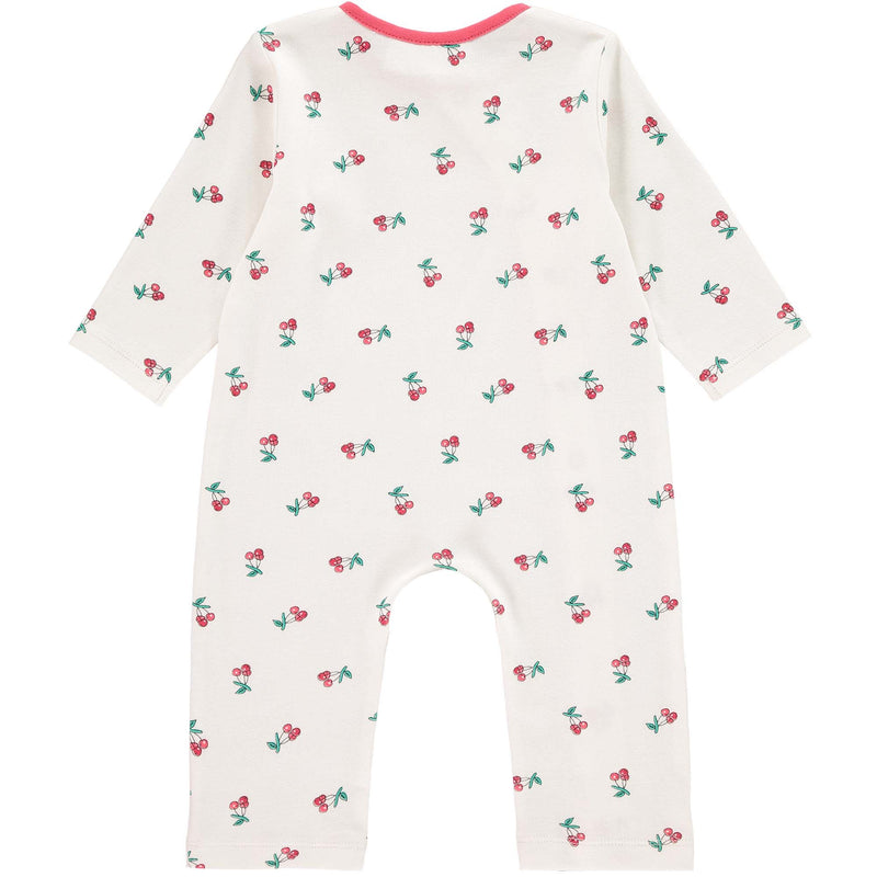Cherry Scalloped Babygro