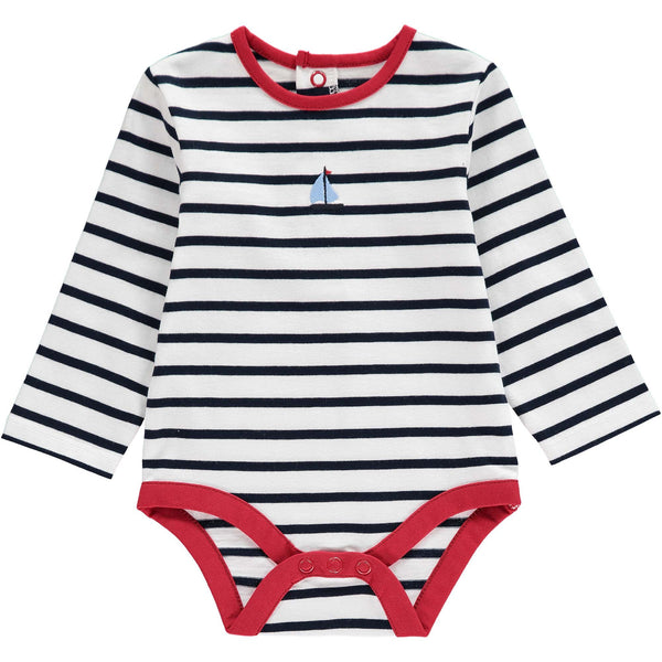 Breton Sailboat Motif Body